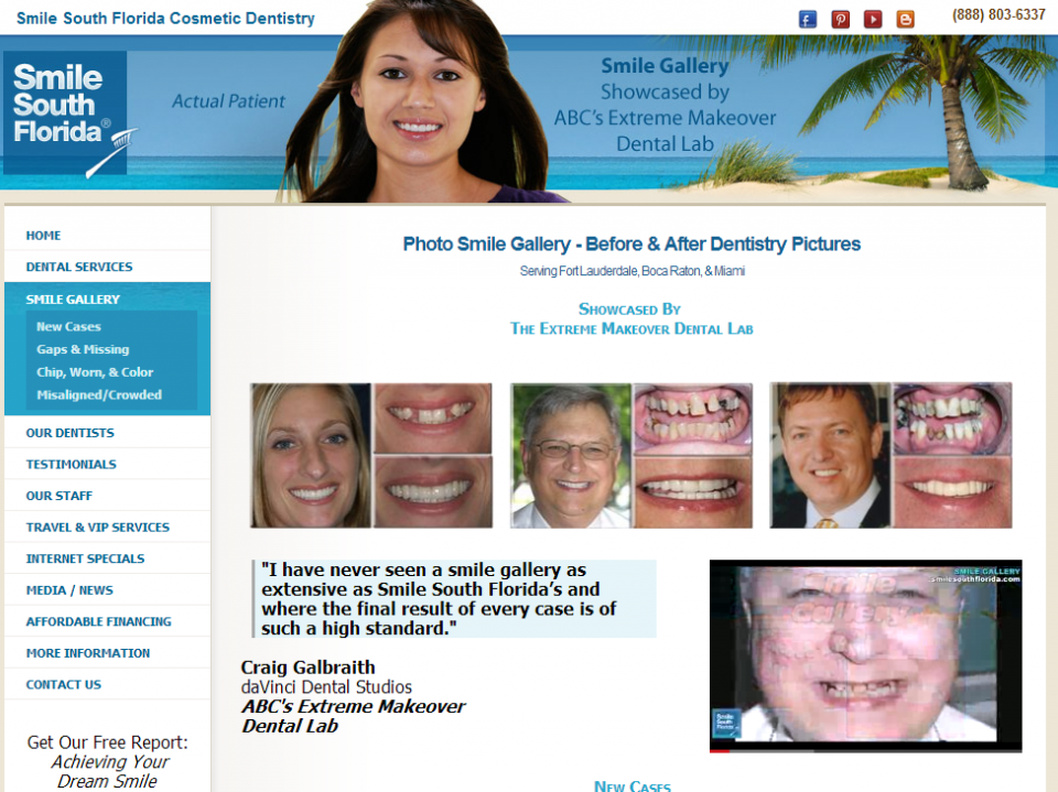 Smile South Florida Cosmetic Dentistry Launches Its Enhanced Website
